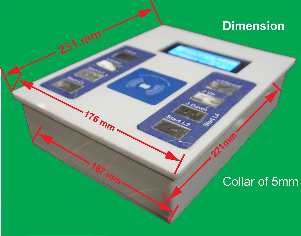 water atm controller packaging-dimension